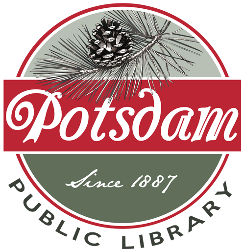 Potsdam Public Library Logo Badge