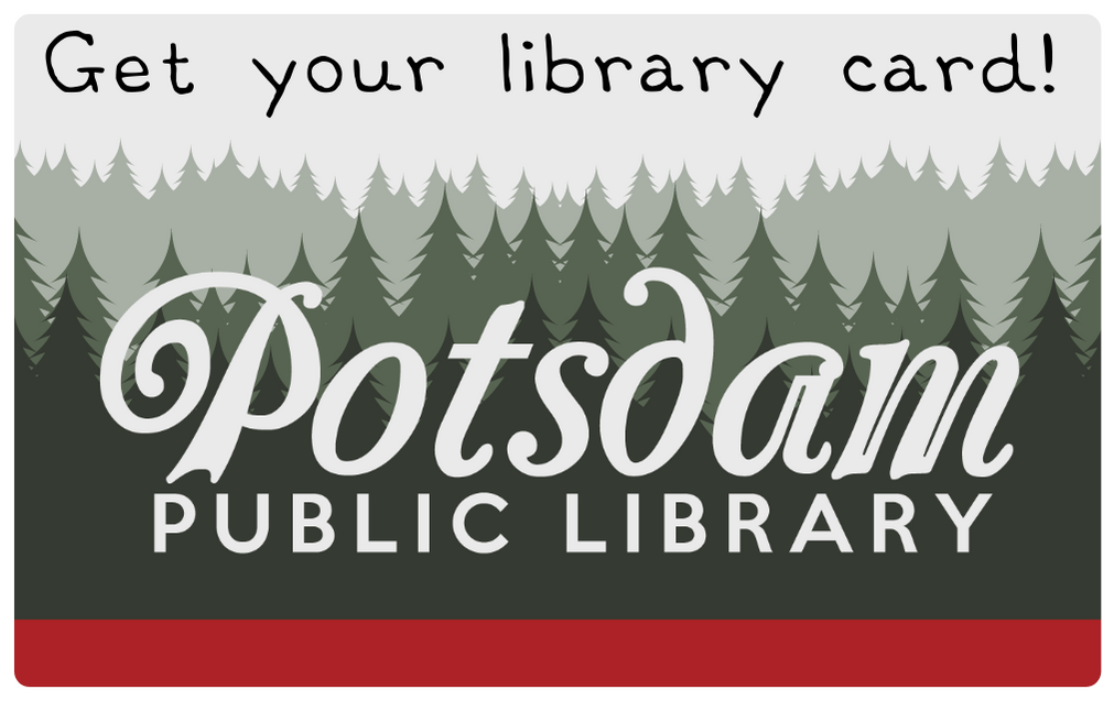 Get your library card!